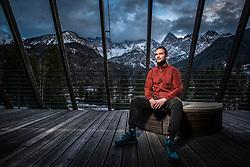 Matej Bradaskja during interview for Iceland expeditions on March 1 , 2019 in Hotel Spik, Gozd Martuljek, Slovenia. Photo by Peter Podobnik / Sportida