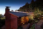 San Rafael, Ca home designed in 1966 by Henrik H Bull