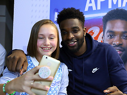September 29, 2018 - St. Petersburg, Russia - September 29, 2018 St. Petersburg. Russia. BC Zenith. Presentation of the BC Zenit team. Player Sean Armand. (Credit Image: © Russian Look via ZUMA Wire)