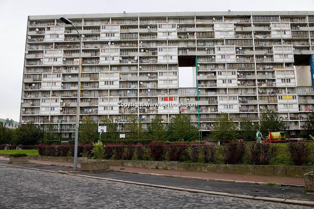 Seine saint Denis, Suburb of Paris, La courneuve near Stains, cite des 4000, social housing  Seine Saint Denis  France    /// Seine Saint Denis, la Courneuve cite des 4000  Champigny sur marne,   france   /// PAR865-13