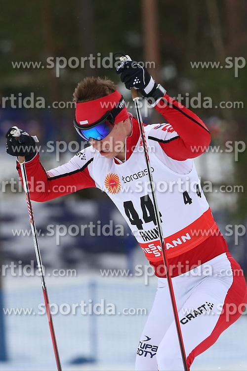 25.02.2015, Lugnet Ski Stadium, Falun, SWE, FIS Weltmeisterschaften Ski Nordisch, Falun 2015, Langlauf, Herren, 15km, im Bild MACIEJ STAREGA // during the Mens 15km Cross Country Race of the FIS Nordic Ski World Championships 2015 at the Lugnet Ski Stadium in Falun, Sweden on 2015/02/25. EXPA Pictures &copy; 2015, PhotoCredit: EXPA/ Newspix/ Tomasz Markowski<br /> <br /> *****ATTENTION - for AUT, SLO, CRO, SRB, BIH, MAZ, TUR, SUI, SWE only*****