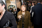 HILARY ALEXANDER,  The Launch of the Lanvin store on Mount St. Presentation and cocktails.  London. 26 March 2009