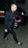 "Sinead O'Connor arrives before the concert at the ""Ancienne Belgique"" in Brussels, 30th of september 2014 Brussels Belgium"