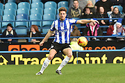 Sam Hutchinson of Sheffield Wednesday  during the Sky Bet Championship match between Sheffield Wednesday and Wolverhampton Wanderers at Hillsborough, Sheffield, England on 20 December 2015. Photo by Ian Lyall.