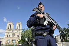 Paris: Notre Dame attack - 6 June 2017