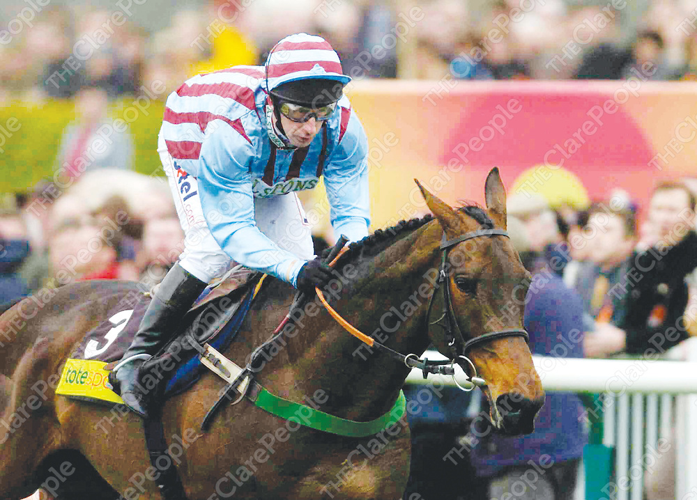18 March 2004; Best Mate, with Jim Culloty up, in action during the totesport Cheltenham Gold Cup Steeple Chase, Cheltenham Festival, Prestbury Park, Cheltenham, England. Horse Racing. Picture credit; Pat Murphy / SPORTSFILE *EDI*