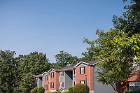 Exterior Image of Rolling Brook Village Apartment Community in Woodbridge Virginia by Jeffrey Sauers of Commercial Photographics, Architectural Photo Artistry in Washington DC, Virginia to Florida and PA to New England