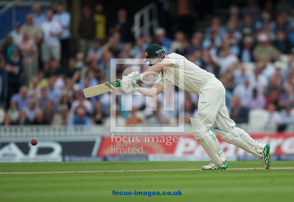 Adam Voges of Australia batting during the 5th Investec Ashes Test Match match at the Kia Oval, London<br /> Picture by Alan Stanford/Focus Images Ltd +44 7915 056117<br /> 20/08/2015