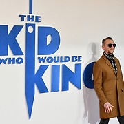 Simon Pegg Arrives at The Kid Who Would Be King on 3 February 2019 at ODEON Luxe Leicester Square, London, UK.