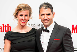 28.01.2016, Goya Theatre, Madrid, ESP, Men'sHealth Awards, im Bild Paco Roncero and his wife Nerea Ruano attends // to the delivery of the Men'sHealth awards at Goya Theatre in Madrid, Spain on 2016/01/28. EXPA Pictures © 2016, PhotoCredit: EXPA/ Alterphotos/ BorjaB.hojas<br /> <br /> *****ATTENTION - OUT of ESP, SUI*****