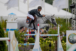 Siyahi Efe, TUR, Call Me Princess<br /> Grand Prix Rolex powered by Audi <br /> CSI5* Knokke 2019<br /> © Hippo Foto - Dirk Caremans<br /> Siyahi Efe, TUR, Call Me Princess