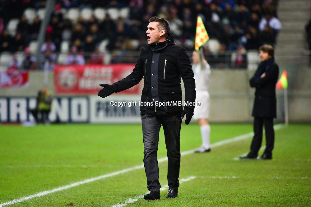 Jocelyn GOURVENNEC - 07.12.2014 - Reims / Guingamp - 17eme journee de Ligue 1 -<br />Photo : Dave Winter / Icon Sport