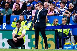 Leicester City manager Brendan Rogers rubs his eye - Mandatory by-line: Robbie Stephenson/JMP - 11/08/2019 - FOOTBALL - King Power Stadium - Leicester, England - Leicester City v Wolverhampton Wanderers - Premier League