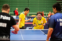 TAKEMORI Takeshi and KATO Koya (JPN) during Team events at Day 4 of 16th Slovenia Open - Thermana Lasko 2019 Table Tennis for the Disabled, on May 11, 2019, in Dvorana Tri Lilije, Lasko, Slovenia. Photo by Vid Ponikvar / Sportida