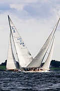 Columbia and Weatherly, 12 Meter Class sailing.
