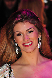 Amy Willerton during the Flight UK film premiere, Empire Leicester Square, London, United Kingdom, January 17, 2013. Photo by Nils Jorgensen / i-Images..