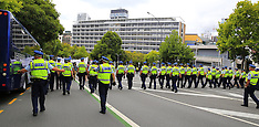 Auckland-Trans Pacific Partnership protest
