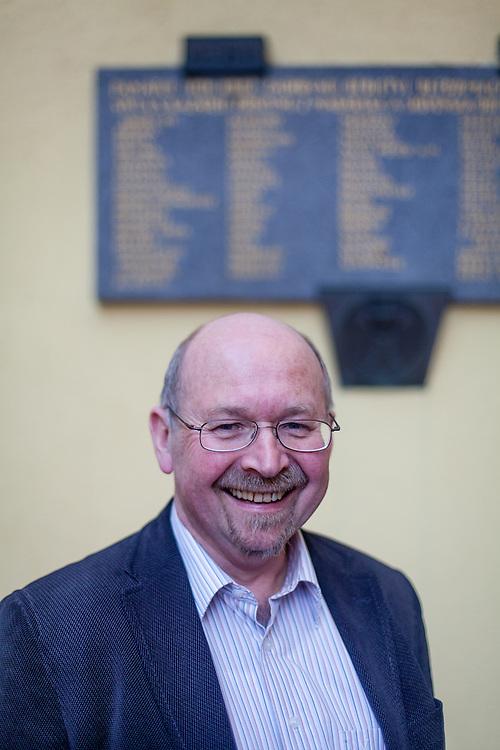 Gerhard Frey-Reininghaus von der Kirche der böhmischen Brüder.