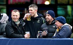 Worcester Warriors fans - Mandatory by-line: Robbie Stephenson/JMP - 28/01/2017 - RUGBY - Sixways Stadium - Worcester, England - Worcester Warriors v Harlequins - Anglo Welsh Cup