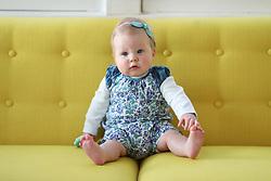 Gemma Marie Palmer 7 months old, Wednesday, March 14, 2018  at Cedar Shake Shack in Louisville.