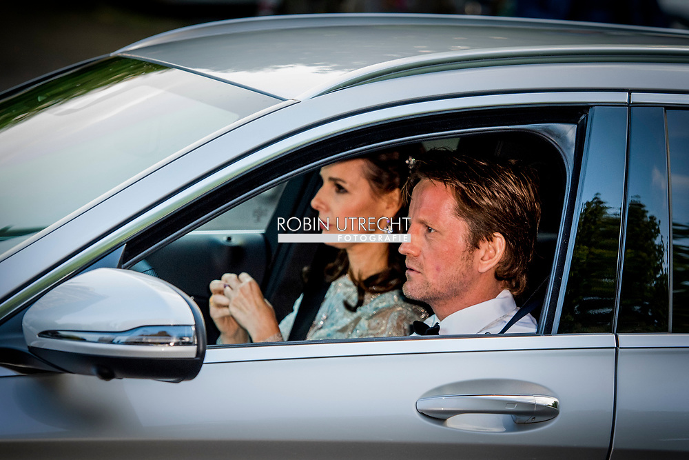 29-04-2017 The Hague Prince Pieter-Christiaan and Princess Anita arrive for the birthday dinner of the Dutch King at the Royal Stable in The Hague.<br /> ROBIN UTRECHT