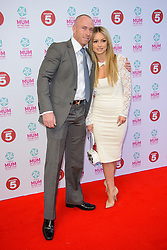Ola and James Jordan attend the Tesco Mum of the Year Awards 2014. The Savoy Hotel, London, United Kingdom. Sunday, 23rd March 2014. Picture by Chris Joseph / i-Images