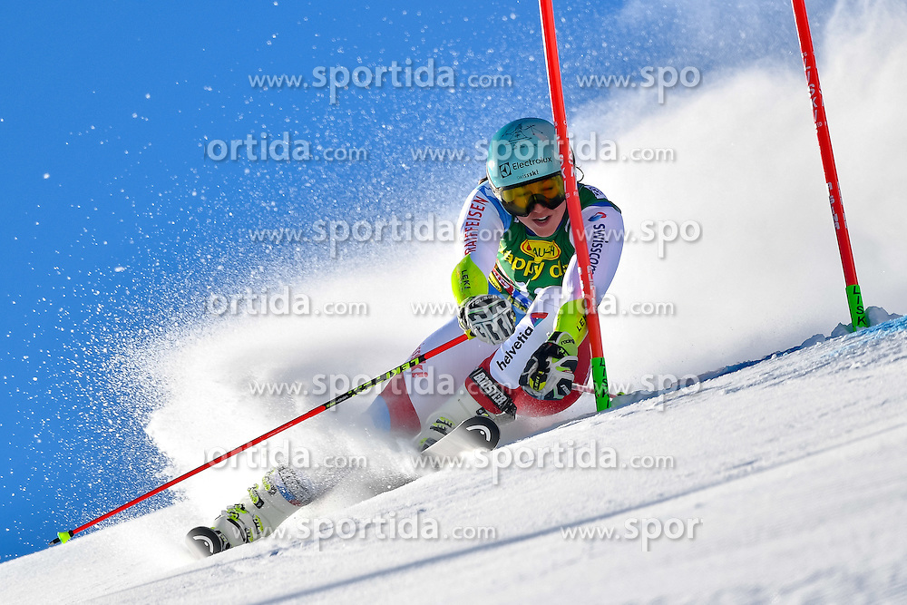 22.10.2016, Rettenbachferner, Soelden, AUT, FIS Weltcup Ski Alpin, Soelden, Riesenslalom, Damen, 1. Durchgang, im Bild Wendy Holdener (SUI) // Wendy Holdener of Switzerland in action during 1st run of ladies Giant Slalom of the FIS Ski Alpine Worldcup opening at the Rettenbachferner in Soelden, Austria on 2016/10/22. EXPA Pictures &copy; 2016, PhotoCredit: EXPA/ Nisse Schmid<br /> <br /> *****ATTENTION - OUT of SWE*****