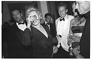 LAUREN BACALL at the Vanity Fair Oscar Night Party. Mortons. Los Angeles.  24 March 1997<br /> Copyright Photograph by Dafydd Jones<br /> 66 Stockwell Park Rd. London SW9 0DA<br /> Tel 0171 733 0108
