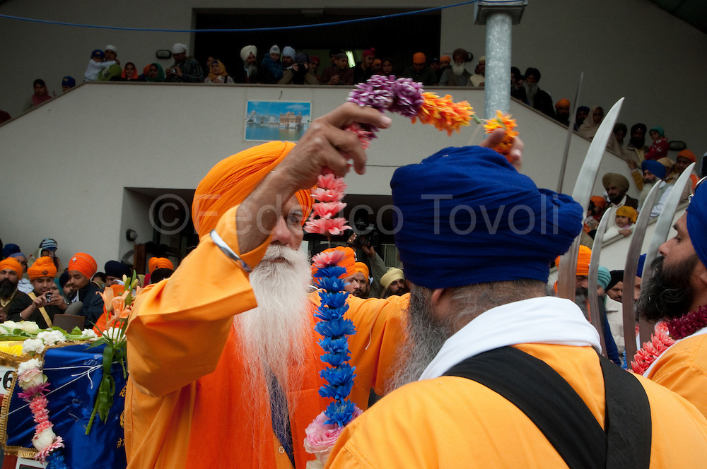 During the Baisaki ( the most important feast of Sikh calendar ) celebrations at Novellara