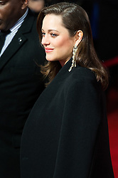 © Licensed to London News Pictures. 21/11/2016. MARION COTILLARD attends the Allied UK film premiere. It follows two assassins who fall in love during a mission to kill a Nazi official during World War II. London, UK. Photo credit: Ray Tang/LNP