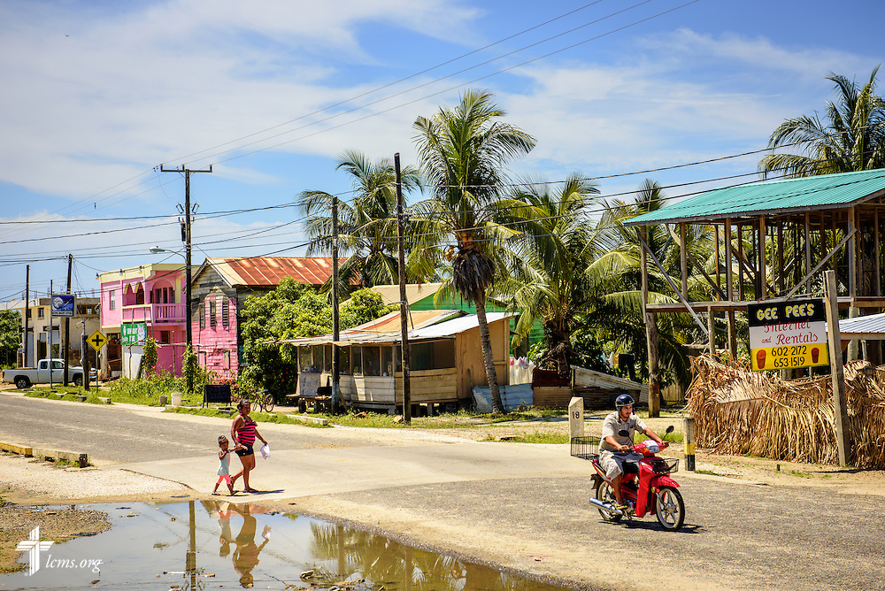 The village of Seine Bight, Belize, on Tuesday, Sept. 27, 2016.  LCMS Communications/Erik M. Lunsford