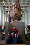 The ancient Egyptian Pharaoh Ramses II, in Room 4 of the British Museum, on 11th April 2018, in London, England.