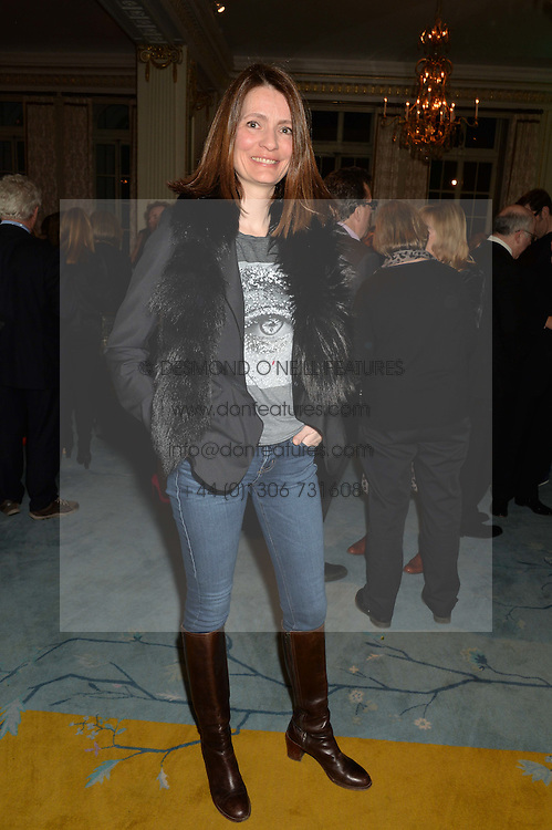PLUM SYKES at a party to celebrate the publication of The Romanovs 1613-1918 by Simon Sebag-Montefiore held at The Mandarin Oriental, 66 Knightsbridge, London on 2nd February 2016.