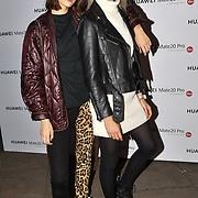 Anna Chiz and Kotsur Liliya attend Huawei - VIP celebration at One Marylebone London, UK. 16 October 2018.