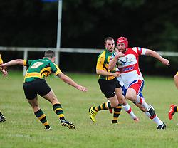 WELLINGBOROUGH ANDY FORDHAM ATTACKS BUGBROOKE Wellingborough Rugby RFC v Bugbrooke RFC, Midlands 1 East League, Cut Throat Lane Gound, Gt Doddington, Saturday 3rd September 2016
