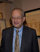 Lord David Sainsbury, ANDREA PALLADIO: HIS LIFE AND LEGACY, Royal Academy. Piccadilly. London. 27 January 2009 *** Local Caption *** -DO NOT ARCHIVE -Copyright Photograph by Dafydd Jones. 248 Clapham Rd. London SW9 0PZ. Tel 0207 820 0771. www.dafjones.com<br /> Lord David Sainsbury, ANDREA PALLADIO: HIS LIFE AND LEGACY, Royal Academy. Piccadilly. London. 27 January 2009