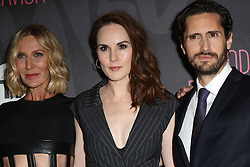 November 14, 2016 - New York, New York, United States - Actors (L-R) Lusia Strus, Michelle Dockery and Juan Diego Botto arriving at the premiere of 'Good Behavior' at the Roxy Hotel on November 14, 2016 in New York City  (Credit Image: © Nancy Rivera/Ace Pictures via ZUMA Press)