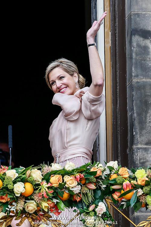 NLD/Amsterdam/20130430 - Inhudiging Koning Willem - Alexander en Koningin  Maxima, Koningin Maxima