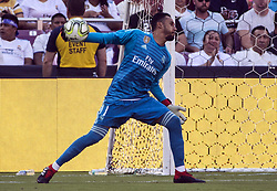 August 4, 2018 - Landover, Maryland, USA - Landover, MD. - Saturday, August 4, 2018: Real Madrid defeated Juventus 3-1 in an International Champions Cup match at Fedex Field. (Credit Image: © Tony Quinn/ISIPhotos via ZUMA Wire)