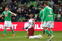 Deception Metz - Romain METANIRE  - 14.03.2015 - Metz / Saint Etienne - 29e journee Ligue 1<br /> Photo : Fred Marvaux / Icon Sport