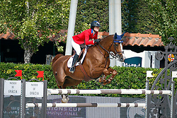 Kessler Reed (USA) - Cylana<br /> Furusiyya FEI Nations Cup Jumping Final Round 1<br /> CSIO Barcelona 2013<br /> © Dirk Caremans
