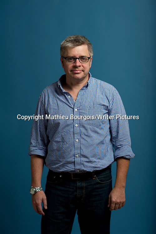 Paul Harding at Festival America, Vincennes, France<br /> 11th September 2014<br /> <br /> Picture by Mathieu Bourgois/Writer Pictures<br /> <br /> NO FRANCE