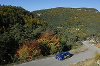RALLY, 25.10.03,  WRC 2003 - RALLYE CATALUNYA - LLORET DEL,<br />PETTER SOLBERG (NORWAY) / SUBARU IMPREZA WRC  PHOTO: FRANCOIS BAUDIN /DIGITALSPORT