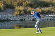 Jason Scrivener (AUS) on the 18th during Round 2 of the Commercial Bank Qatar Masters 2020 at the Education City Golf Club, Doha, Qatar . 06/03/2020<br /> Picture: Golffile   Thos Caffrey<br /> <br /> <br /> All photo usage must carry mandatory copyright credit (© Golffile   Thos Caffrey)