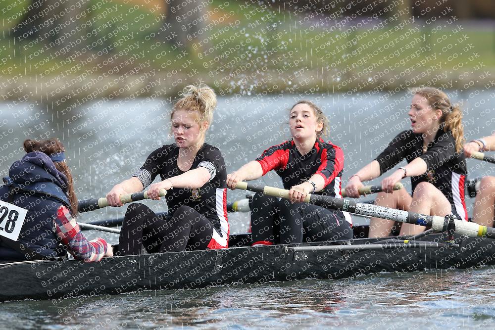 2012.02.25 Reading University Head 2012. The River Thames. Division 1. University of Warwick Boat Club WNov 8+