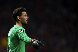 November 6, 2018 - Madrid, Spain - Roman Burki of Borussia Dortmund during the Group A match of the UEFA Champions League between Atletico de Madrid and Borussia Dortmund at Wanda Metropolitano Stadium, Madrid on November 06 of 2018. (Credit Image: © Jose Breton/NurPhoto via ZUMA Press)
