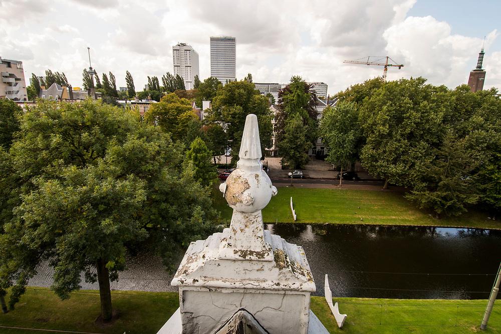 Nederland, Rotterdam, 20170831<br /> Pand Michel Peek, Eendrachtsweg 51, Rotterdam<br /> <br /> Foto: (c) Michiel Wijnbergh