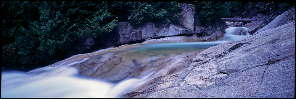 Gold Creek, Golden Ears Provincial Park, Maple Ridge, British Columbia, Canada, February 1991