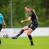 2020-07-29 | Vittsjö, Sverige:  under matchen i OBOS Damallsvenskan mellan Vittsjö GIK och IK Uppsala på Vittsjö IP ( Foto av: Henrik Eberlund | Swe Press Photo )<br /> <br /> Nyckelord: Vittsjö, Fotboll, OBOS Damallsvenskan, Vittsjö IP, Vittsjö GIK, IK Uppsala, HEVU200729