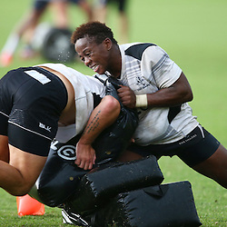 DURBAN, SOUTH AFRICA, 17 November 2015 -Inny Radebe during The Pre-season training squad and coaching team announcement at Growthpoint Kings Park in Durban, South Africa. (Photo by Steve Haag)<br /> images for social media must have consent from Steve Haag
